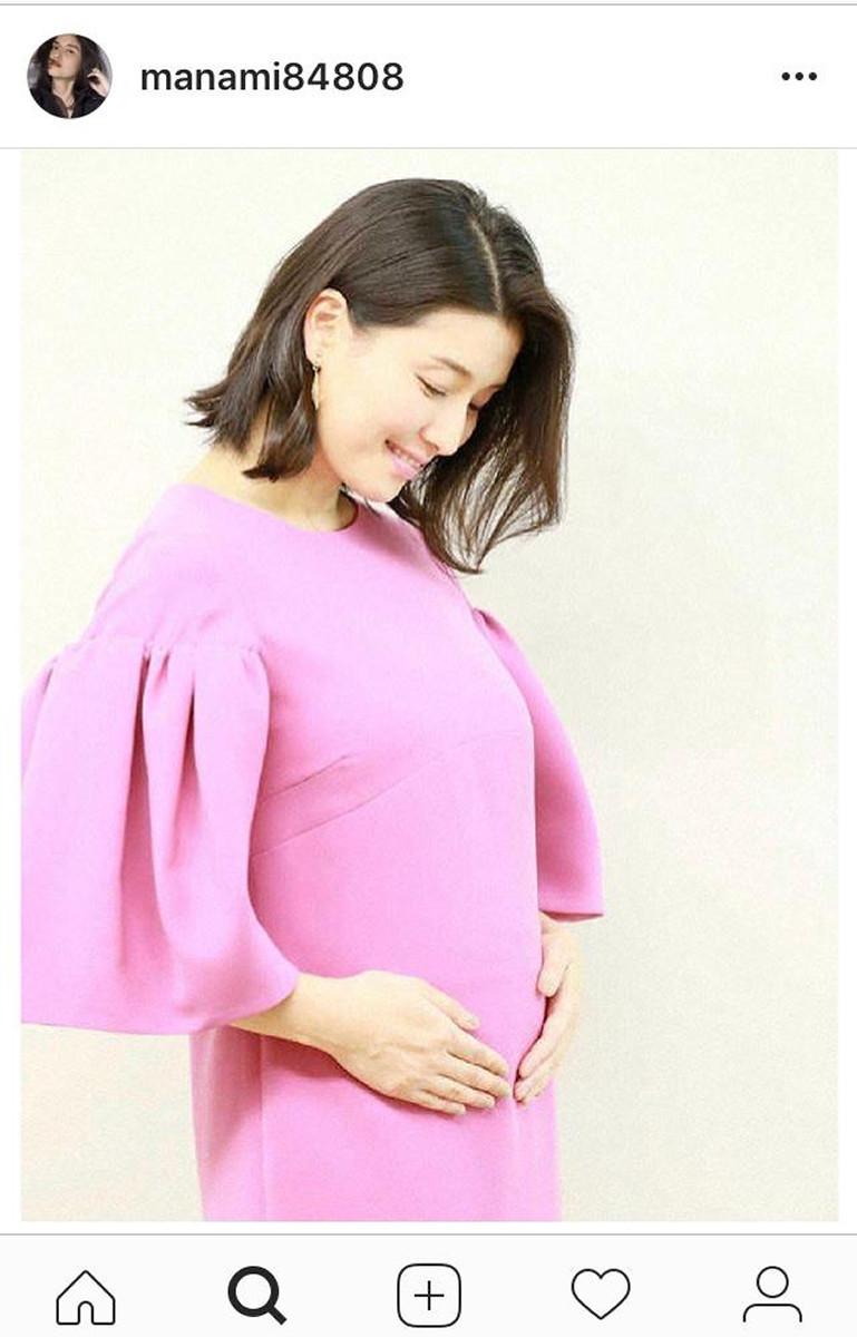 橋本マナミ 妊娠