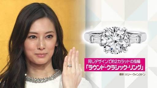 北川景子 指輪